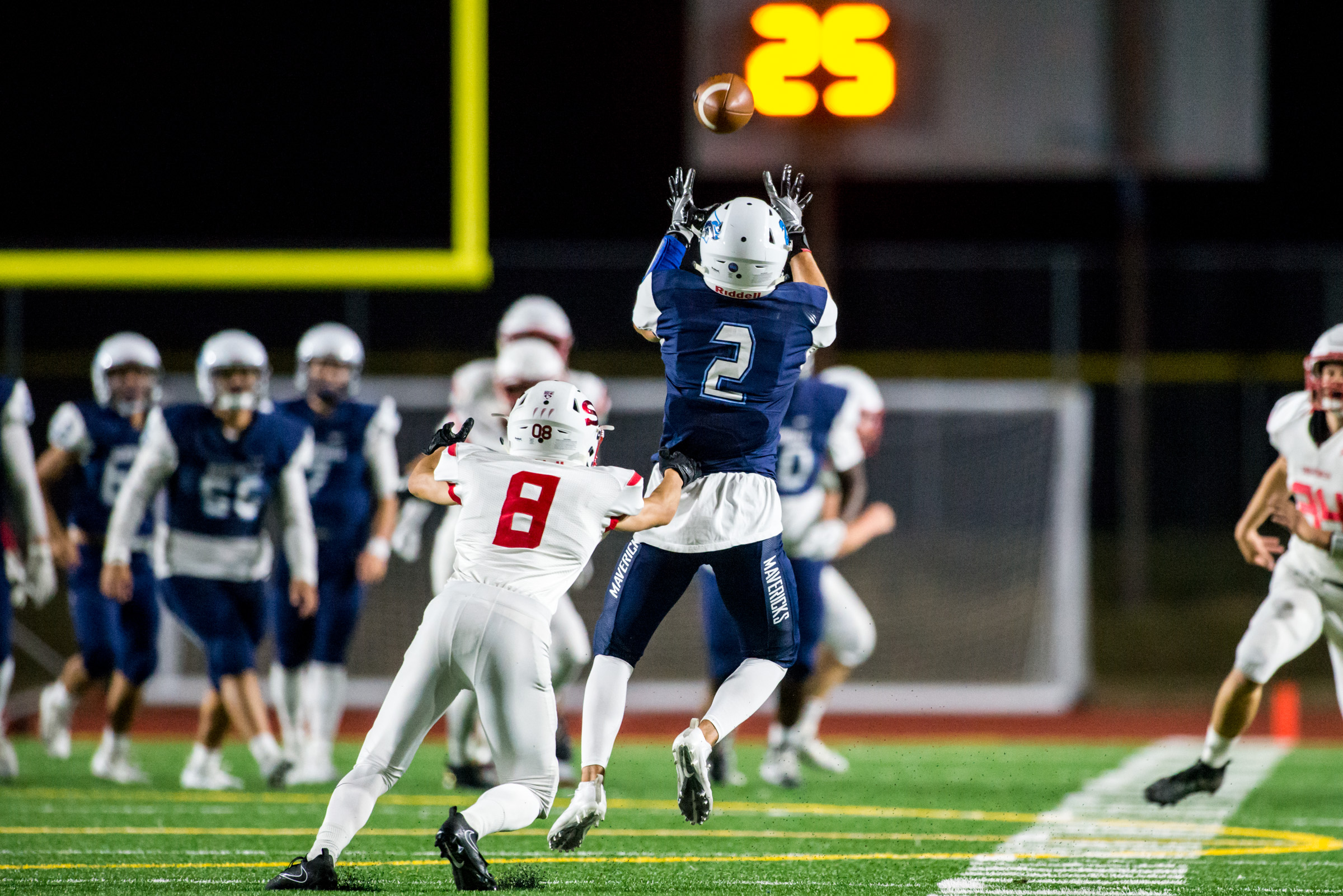 Prep Football Mavericks Roughed Up By Snohomish At Home My