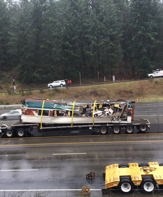 WSDOT: Crews continue removal of rail cars