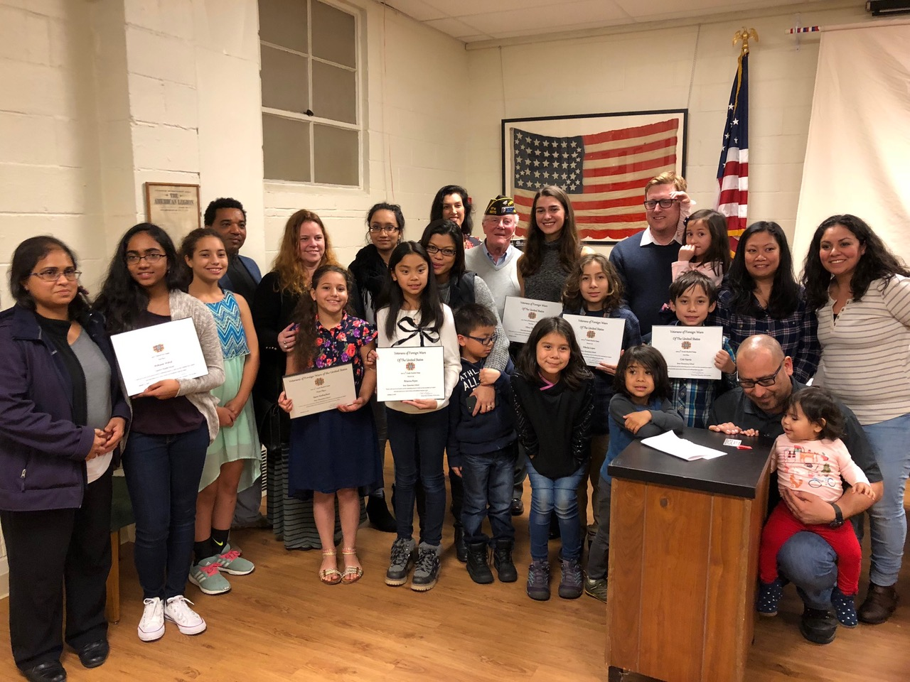 Winners of annual vfw post 8870 essay contests honored my edmonds news