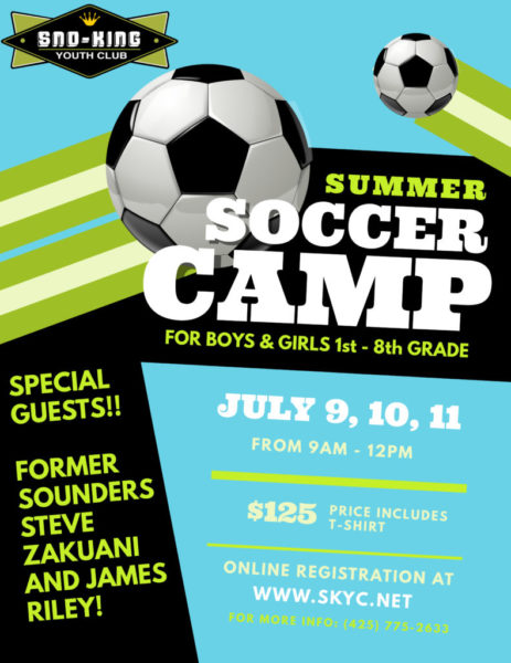27acedf30 Registration open for Sno-King Youth Club soccer camp July 9-11 - My ...