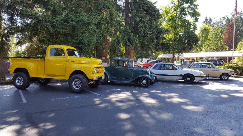 Lynnwood Car Show Raises Funds For Nourishing Network My Edmonds News - Edmonds car show