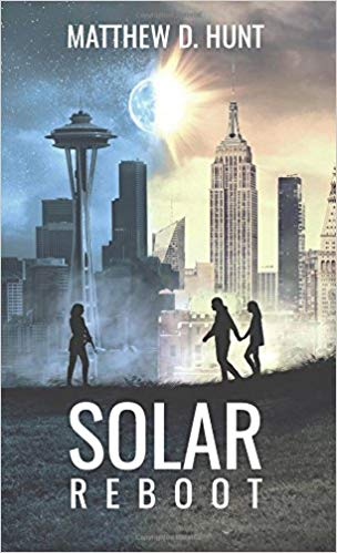 Solar Reboot Novel cover