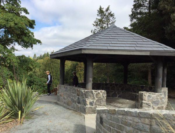 The Arboretum's Lookout Gazebo.