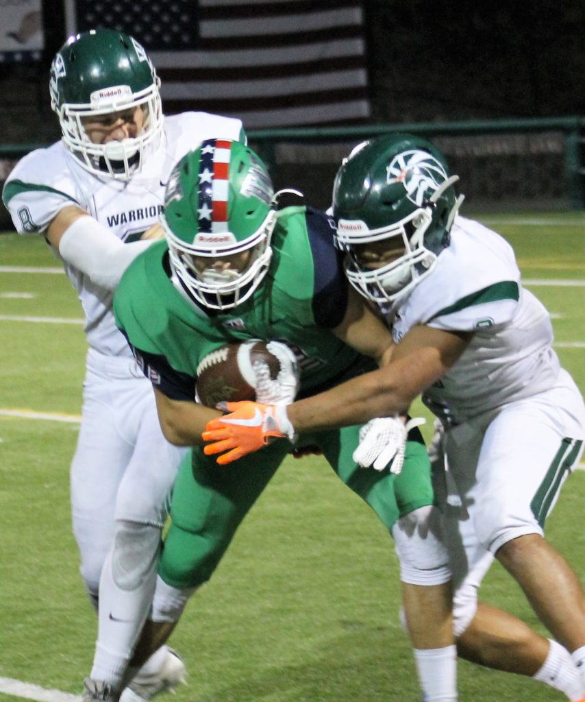 Prep Football Young Warriors Fall To Woodinville In Non League