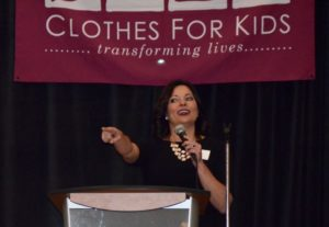 Sportscaster Jen Mueller talks about the role of clothing in instilling self-confidence
