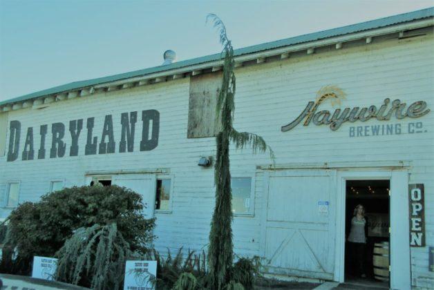 Haywire Brewing Co. Dairyland Barn