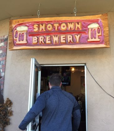 SnoTown Brewery-entrance