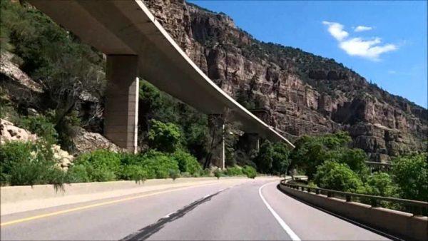 Highway 70, Glenwood Canyon (YouTube)