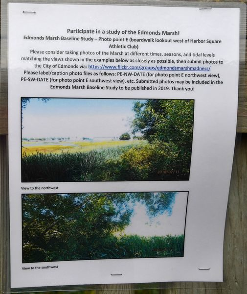 Marsh laminated signs