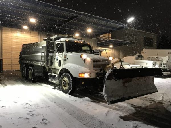 e6312f1ac6 A City of Edmonds snow plow ready to go. (Courtesy City of Edmonds Facebook  page)
