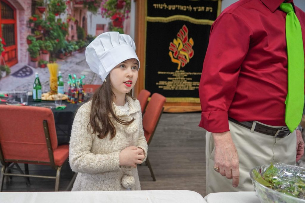 Chabad Jewish Center hosts 'Purim in Italy' party
