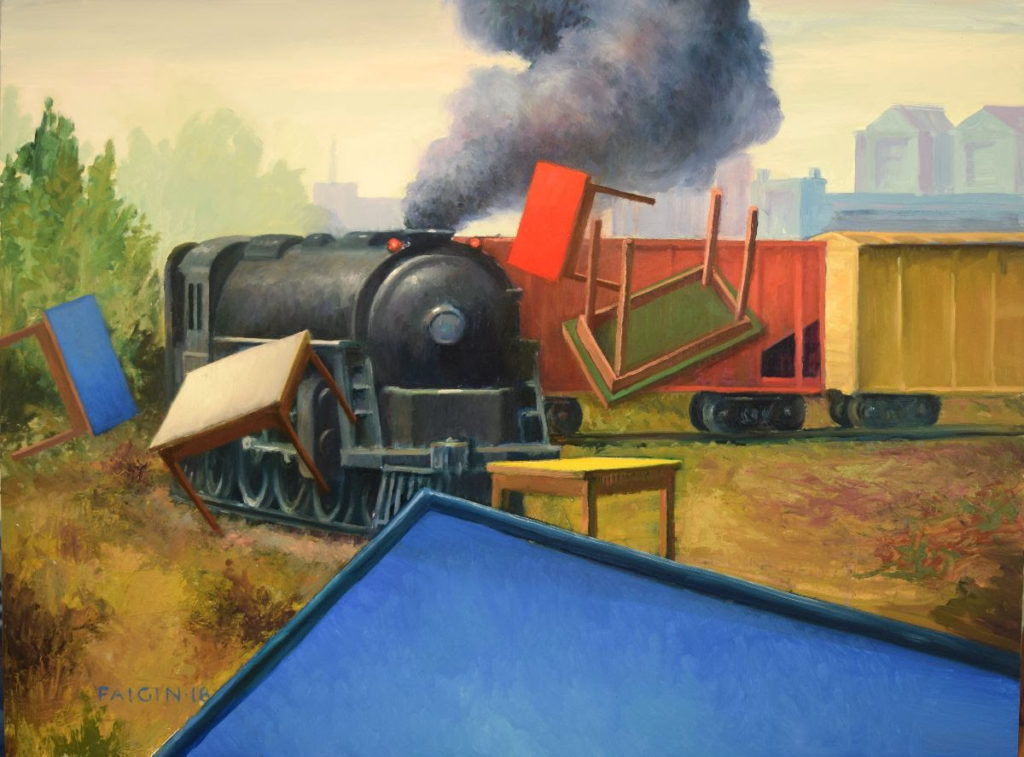 "The Age of Steam"" exhibits at Arts Festival Gallery through July 17"