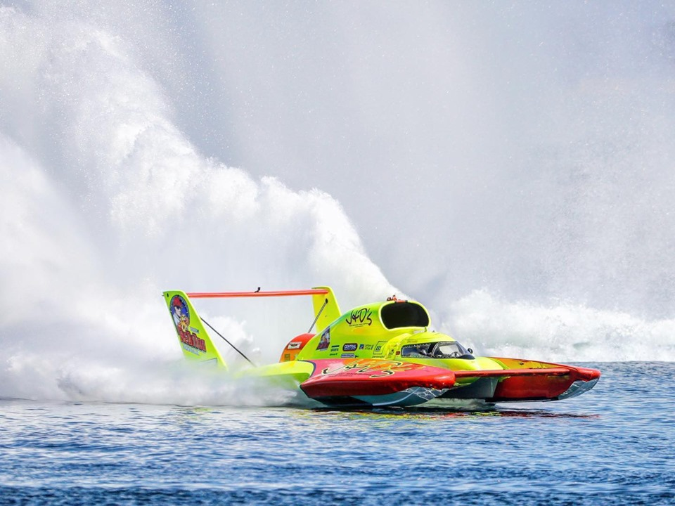 Shane, Tate lead way through first day of Columbia Cup hydro racing