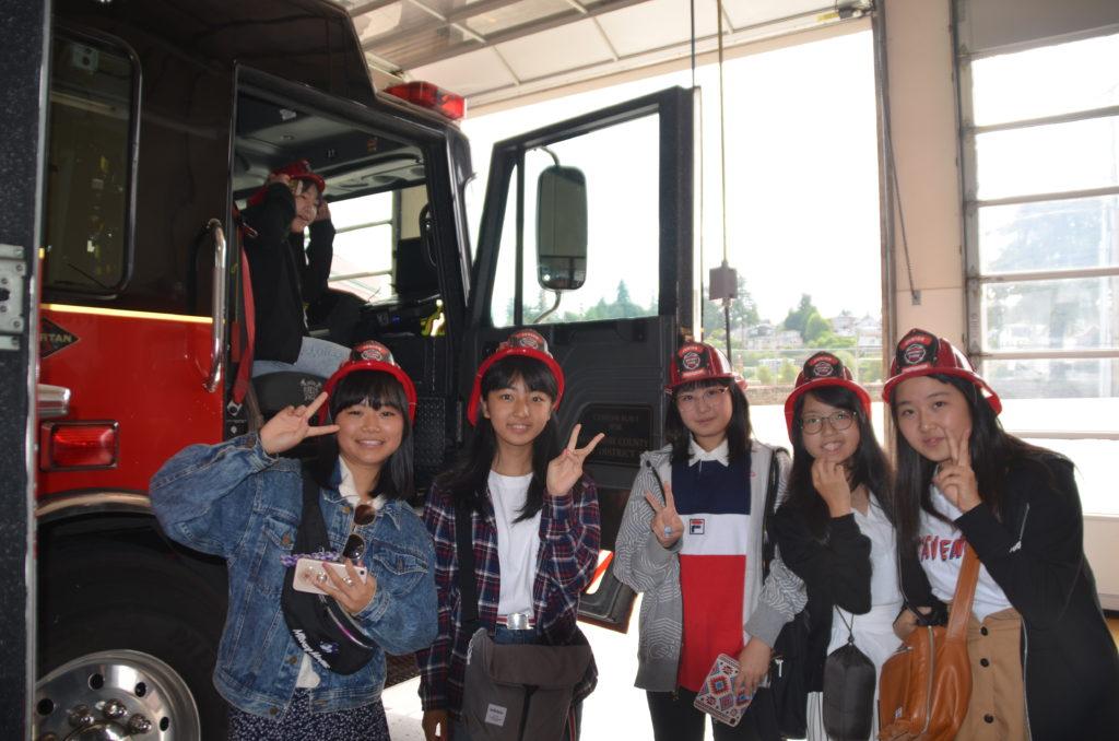 Hekinan Students Start A Week Of Sister City Fun With Visit