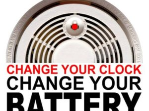 Change Your Clocks Check Your Smoke Alarms This Weekend My