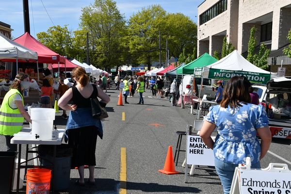 Edmonds Museum Garden Market opens to blue skies - and a healthy ...